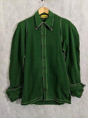 Christopher NEMETH Vintage Archive Iconic Jersey Cotton Green Renaissance Shirt