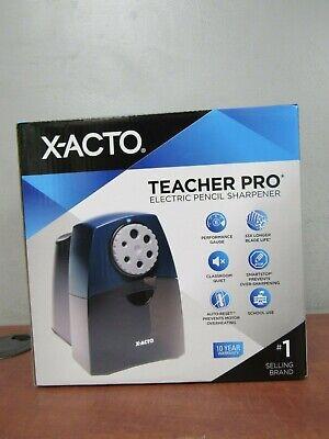 X-acto 1675 Teacher Pro Electric Pencil Sharpener 7d