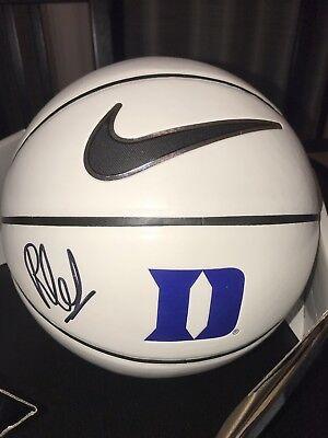 8dbc9383de7 RJ BARRETT 2019 NBA DRAFT 1st Round Pick Signed Autograph DUKE Logo  Basketball