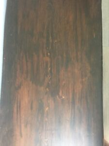 Beautiful solid live edge fir bench/ coffee table