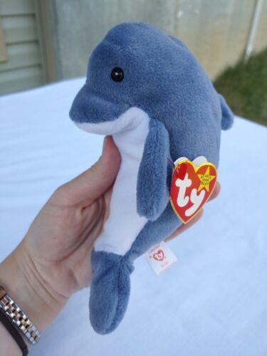 echo dolphin 4180 beanie baby mint pvc