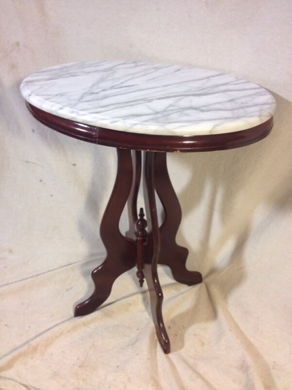 Stand,Marble Top Gorgeous Mohagony Not antique, Ship Freight/LocalPU. MAKE OFFER