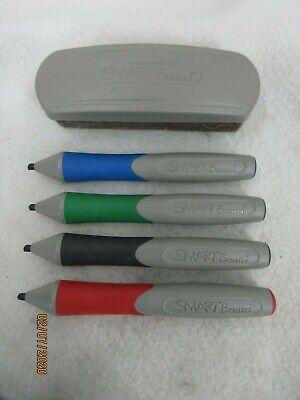 Smartboard Stylus Marker Pens Eraser Red Green Blue Black