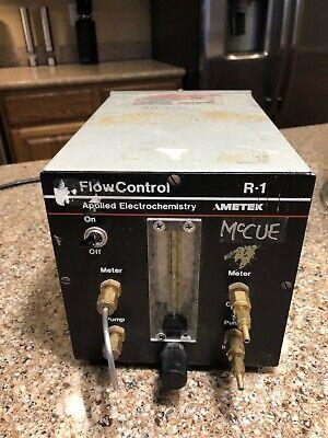 Ametek R-1 Flow Control For Oxygen Analyzer Applied Electrochemistry 1000 Ccmin