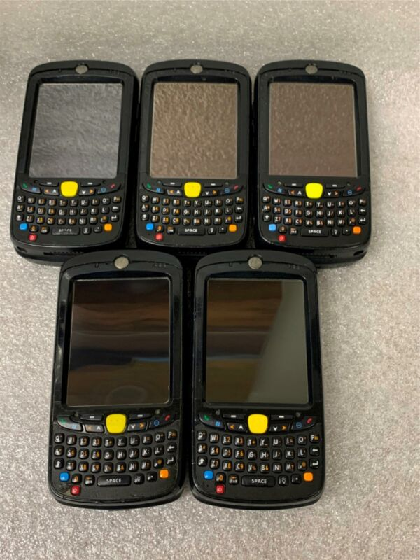 Symbol Motorola MC55 Wireless  Imager Barcode Scanner MC55A0-P30SWQQA94R LOT X5