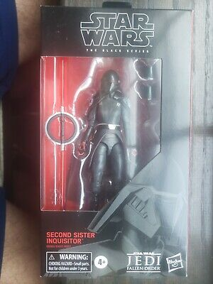 "Hasbro Star Wars Black Series  6"" SECOND SISTER INQUISITOR #95"