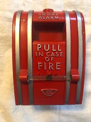 Edwards 270 Spo Red Fire Alarm Pull Station - Wall Mount