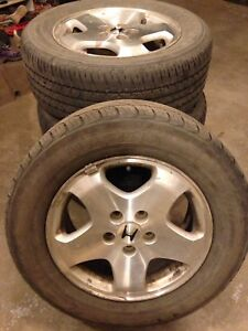 Honda wheels with tires