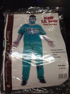 Scary E.R. Male Doctor Teen Costume by RG Costumes