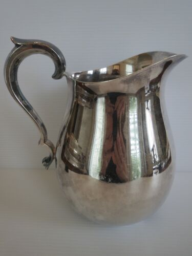 Vintage  REED & BARTON Silverplate Water Tea PITCHER Number 969, 7.5 inches Tall