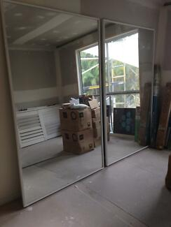 Wardrobe mirrored sliding doors Ascot Brisbane North East Preview