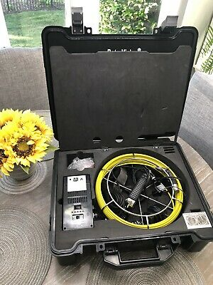 Rotobrush Roto-vision Video Inspection System With Camera Power Supply Case