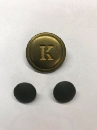 WW1 WWI Austro-Hungarian Kaiser Karl Solid Brass Cockade w/ Buttons