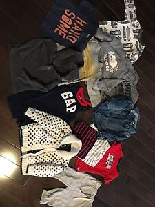 Size 12-18 Baby Gap and 2 Roots shirts