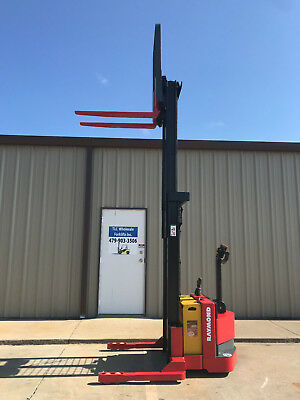 2008 Raymond Rss40 Walk Behind Forklift Straddle - Double 128