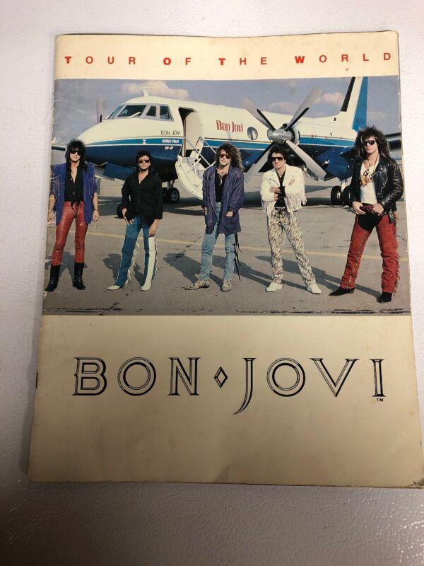 BON JOVI 1987 Tour of the World Concert Program Tour Book