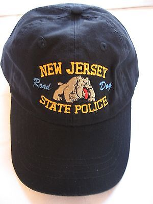 NEW JERSEY STATE POLICE- ROAD DOG   HAT  -  NEW