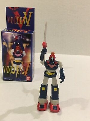 Voltes V figure robot by bandai popy godaikin toei daimos mazinger 3 inches tall