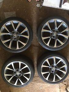 Vf ssv genuine wheels 19 inch Terrey Hills Warringah Area Preview