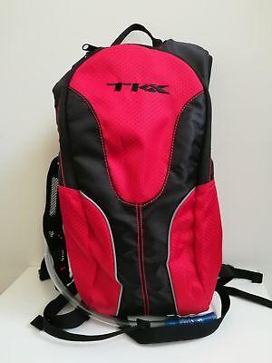 00d24fe016 Zaino idrico Sacca bici bicicletta MTB TKX 2 Lt nero/rosso Outdoor acqua