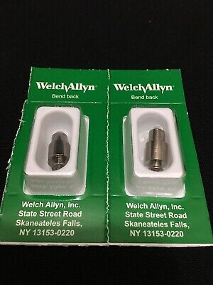 Lot 2 Welch Allyn Halogen Lamp For 3.5v Macroview Otoscope 23810 2382006500