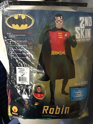 2nd Skin Full Body Stretch Suit Robin Size Medium Up to 5'4 (Full Body Batman Suit)