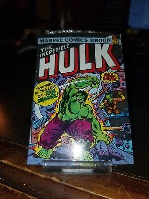 1980s Marvel Comics The Incredible Hulk #1 UNOPENED PACK GUM - 1980s Incredible Hulk