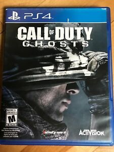 Call of duty ghosts sur ps4