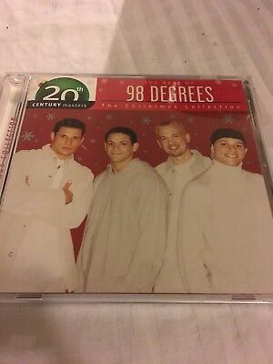 98 Degrees : Christmas Collection: The Best of 98 Degrees CD Rock