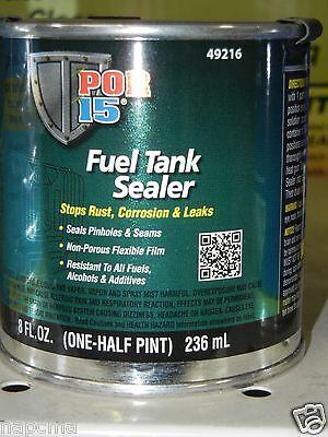 POR-15  half pint TSH por 15  tank sealer FUEL  GAS  TANK SEALER 49216