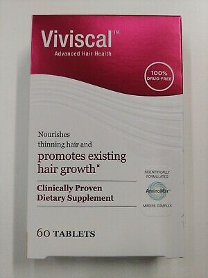 Viviscal promotes Hair Growth  60 Tablets One Month Supply Exp 12/2022