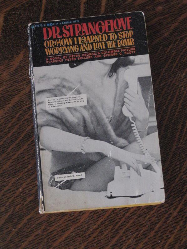 Peter George DR. STRANGELOVE movie edition paperback