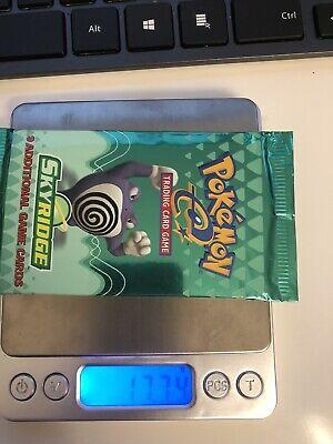 Pokemon Skyridge Booster Pack - Sealed - HEAVY Weight - Poliwrath Artwork