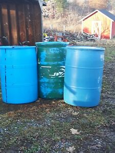 3x 45 Gallon Drums