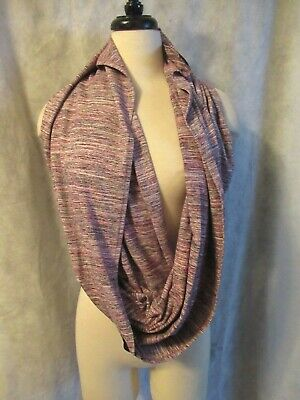 Lululemon Women's Vinyasa Scarf Excellent condition Heathered Pink Gray