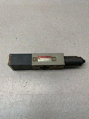 Used Hytegra 2ik Hydraulic Valve Hw3h-a-10-025b