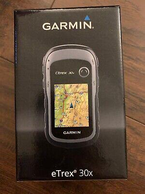 "Garmin eTrex 30x 2.2"" Handheld GPS Unit - Black (010-01508-10)"