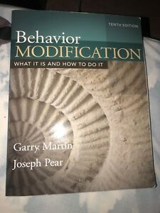 Behavior Modification textbook