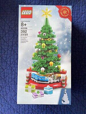 LEGO 40338 CHRISTMAS TREE w/Gifts + Train: Holiday Seasonal 2019 Rare New in Box