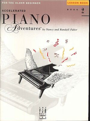 Beginner Piano Lesson Books - Piano Adventures Older Beginner Lesson Book 2 Faber 1999 Pentascales Arpeggios
