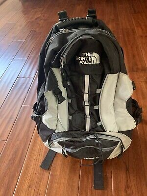 NORTH FACE CERROTORRE 40 BACKPACK RUCKSAC Grey/Black Daypack HIKING WALKING