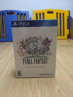 World of Final Fantasy Collectors Edition Square Enix Online Store Exclusive (Worldwide Stores Online)