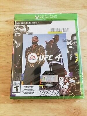 Xbox One -  UFC 4  (Brand NEW & Sealed) EA Sports MMA XB1 - FAST Shipping