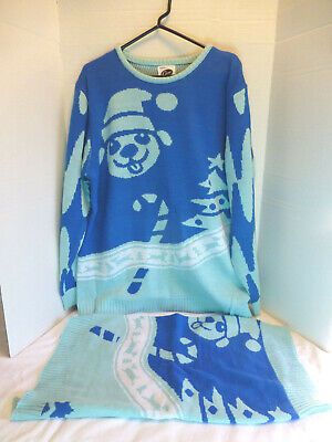 Cesar Holiday Christmas Matching Sweater Dog and Owner Limited Edition Large L