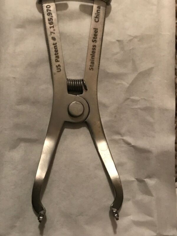 Garrison Forceps. Perfect Condition. Used In an Educational Setting.