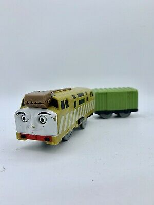 **Slightly Rough DIESEL 10 Thomas & Friends Trackmaster Motorized Green Boxcar