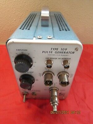 Tektronix Type 109 Pulse Generator Vintage Portland Type
