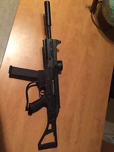 Paintball gun x7  et gear