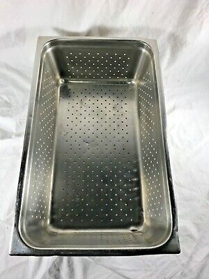 Perforated Steam Table Pan Stainless Steel Full Size 21 X 6 Deep