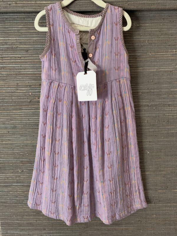 ace & jig Kids Girls 4y Mini Cliff Dress Daybreak $120